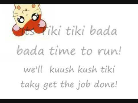 hamtaro theme 2 with lyrics