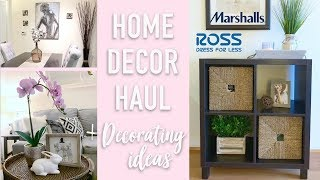 ☆ CHEAP HOME DECOR HAUL + How to Style a Cube Organizer ☆