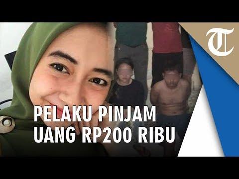 Uang Rp200 Ribu, Jadi Motif Pembunuhan Karyawati Canti Bank
