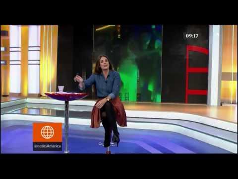 """América Espectáculos 05-07-2017 - Lionel Messi y su esposa bailaron cumbia Peruana """"El embrujo"""""""