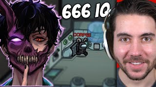 Reacting to Corpse Husband 666 IQ Imposter Plays!