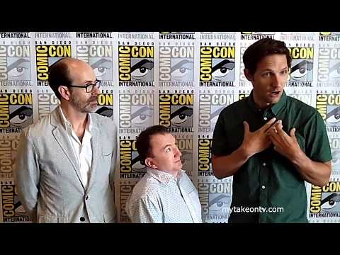 PEOPLE OF EARTH @ SDCC 2017: Brian Huskey, Ken Hall, and Michael Cassidy