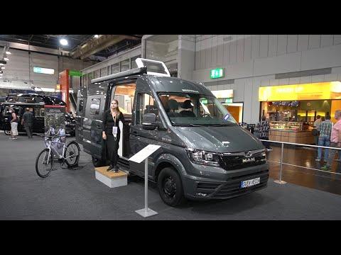 Sven Hedin 2021: MAN TGE 2021: Westfalia 2021 Kastenwagen Wohnmobil MAN TGE 3 140