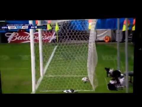 World Cup 2014 Van Persie's Diving Header
