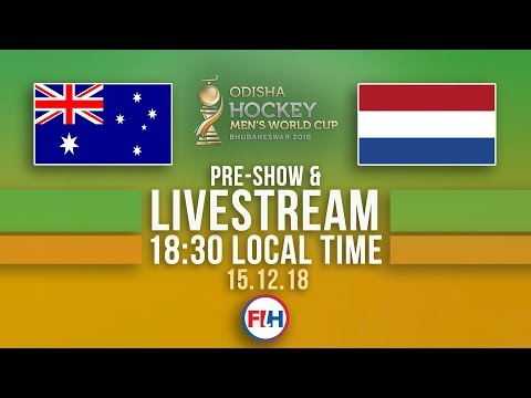 Australia v Netherlands | 2018 Men's Hockey World Cup | FULL MATCH LIVESTREAM