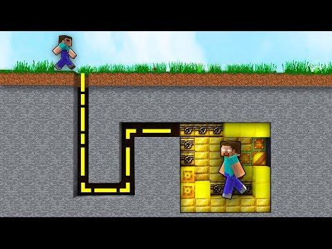 NOOB Tìm Kho Báu Của HEROBRINE Trong Minecraft!!