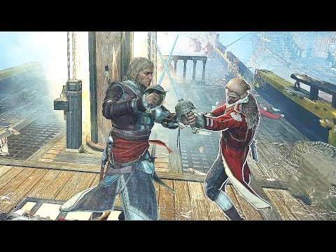 Assassin's Creed 4 Black Flag Edward Kenway's Jackdaw & Neptuno vs Spanish Fleet