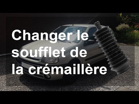 changer le soufflet de la cr maill re biellette de direction renault clio 2 youtube. Black Bedroom Furniture Sets. Home Design Ideas