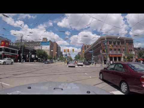 Driving Around Toronto, Ontario, Canada