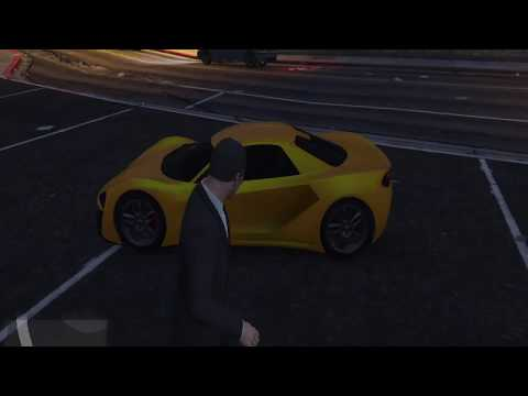 Grand Theft Auto V | Gameplay | Full agressive drive | Expensive car | Mission | Fight