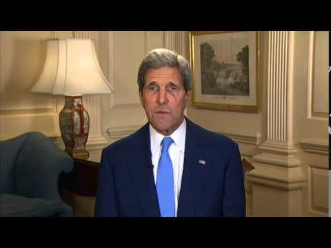 Secretary Kerry Delivers a Video Message for Foreign Affairs Day