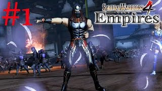 Samurai Warriors 4: Empires | Ryu & Ninjas | PS4 Walkthrough Part 1: Battle of Mino Hida {English}