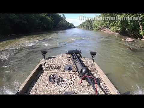 Jet Boat Action - Super Shallow Run