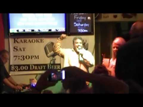American Girl - Tom Petty (karaoke), Peabody's Cafe & Bar, Palm Springs CA, April 6, 2012