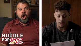 Patrick Mahomes Surprises Veteran with Letter of Support