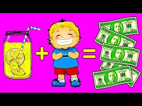 Как дети зарабатывают деньги