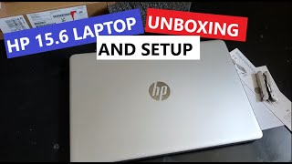 HP 15.6 Inch Laptop with Intel Core i5 processor Unboxing