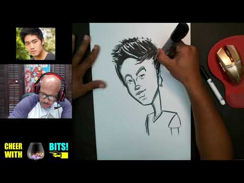 How To Draw Caricature of NigaHiga thumbnail