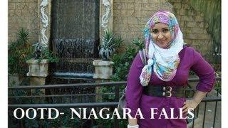 OOTD- Niagara Falls in the Winter Thumbnail