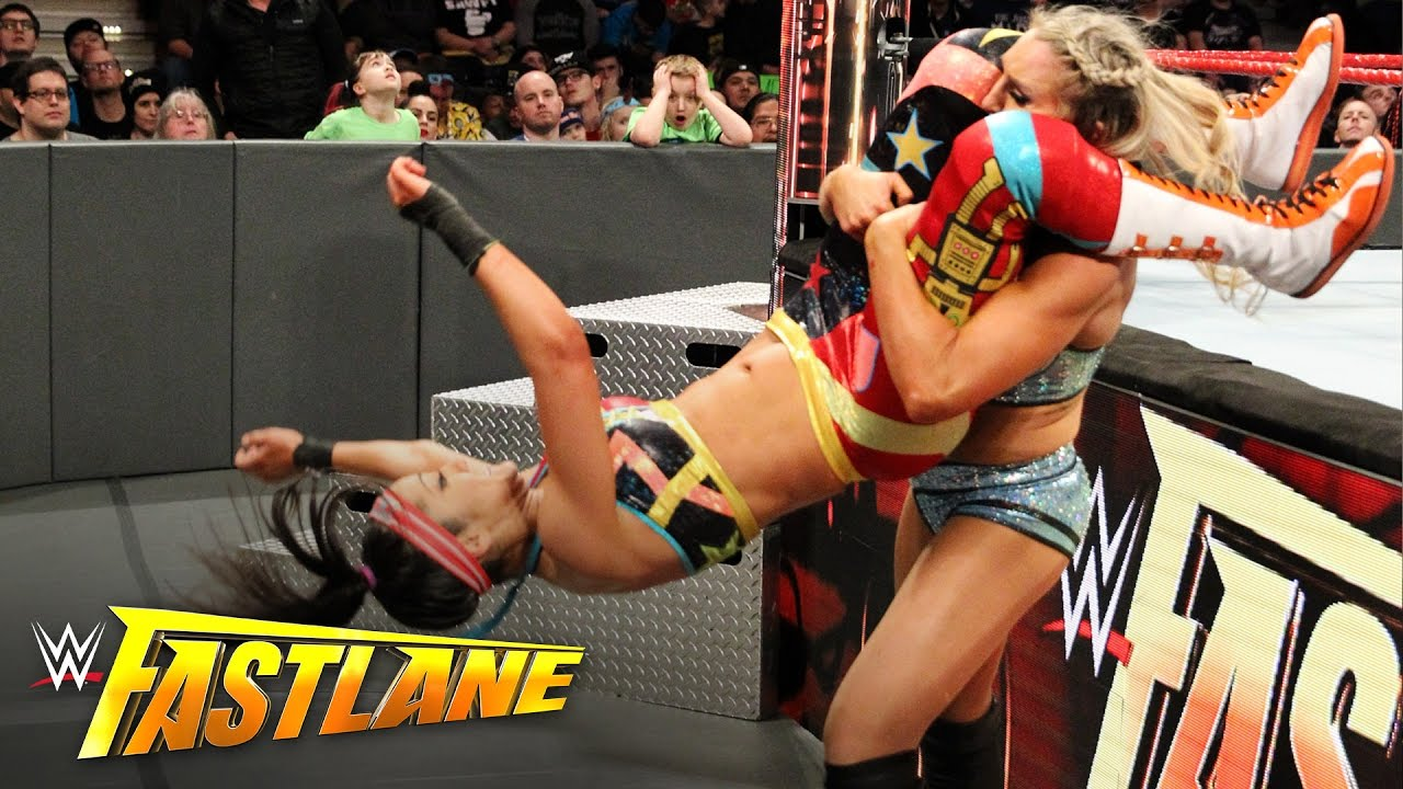 Image result for bayley vs charlotte fastlane 2017
