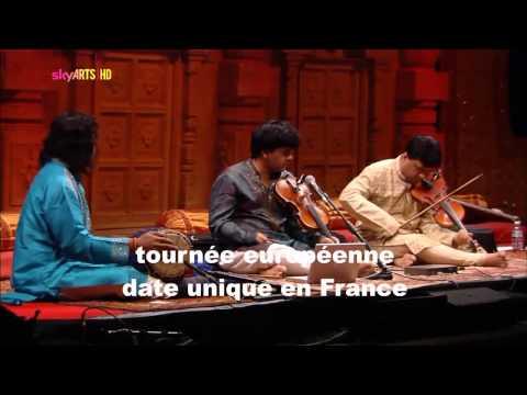 Ganesh & Kumaresh - Concert exceptionnel le 13 avril 2013 à Erquy