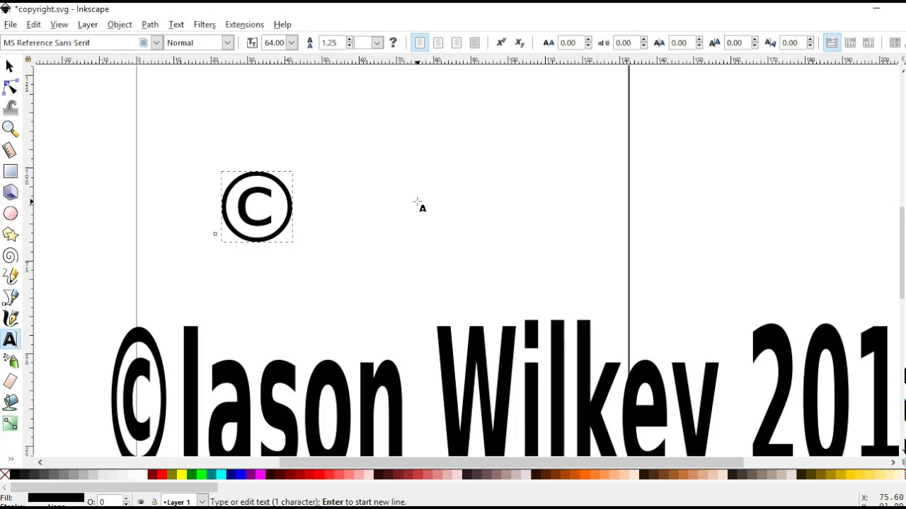 Making copyright symbol in inkscape for merch by amazon shirts making copyright symbol in inkscape for merch by amazon shirts buycottarizona