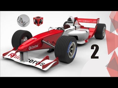 Tutorial Rhino 3D | Modelar un carro de fórmula 1 (2/45)