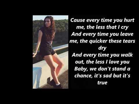 Cimorelli Too Good at Goodbyes (Lyrics)