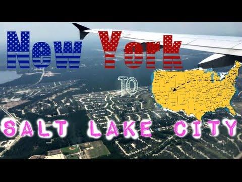 ♡ Vlog n°4 : New York  to Salt Lake City ♡