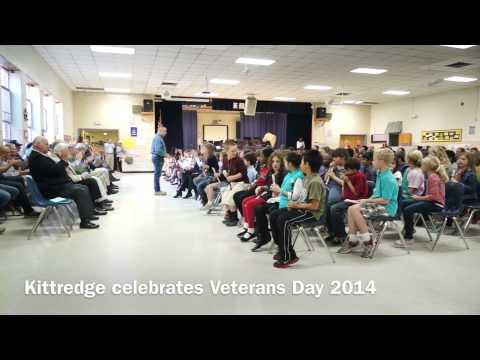 Kittredge Magnet School celebrates Veterans Day 2014
