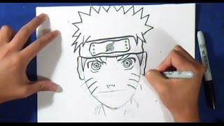 comment dessiner naruto