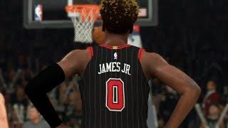 NBA 2K20 Bronny James My Career Ep. 13 - Carrying the Team
