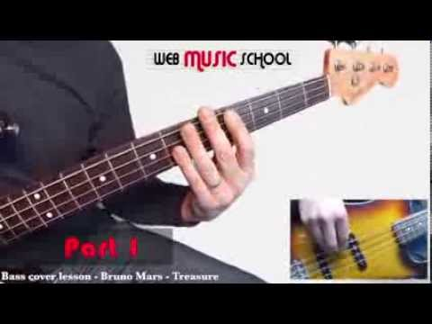 Bruno Mars - Treasure - FREE BASS LESSON