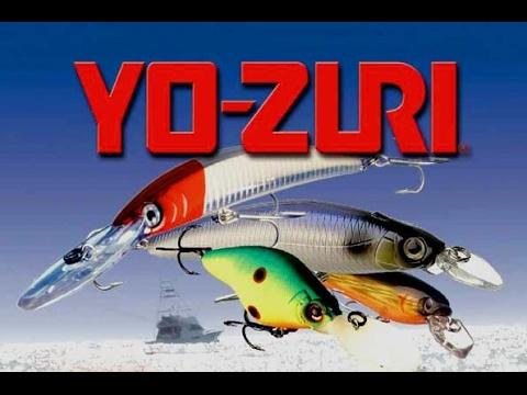Топ 14 копий воблеров Yo - Zuri из Китая