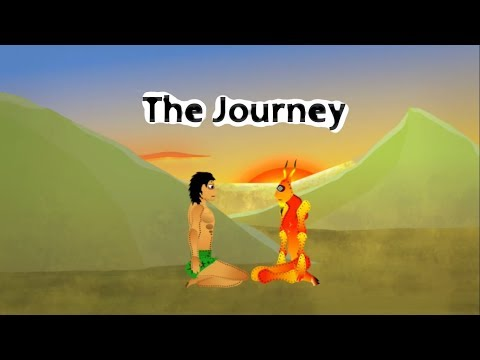 """Stoned ape theory - """"Another true story of Adam and Eve PART 2/3 - The Journey"""" (TTS Episode 6)"""