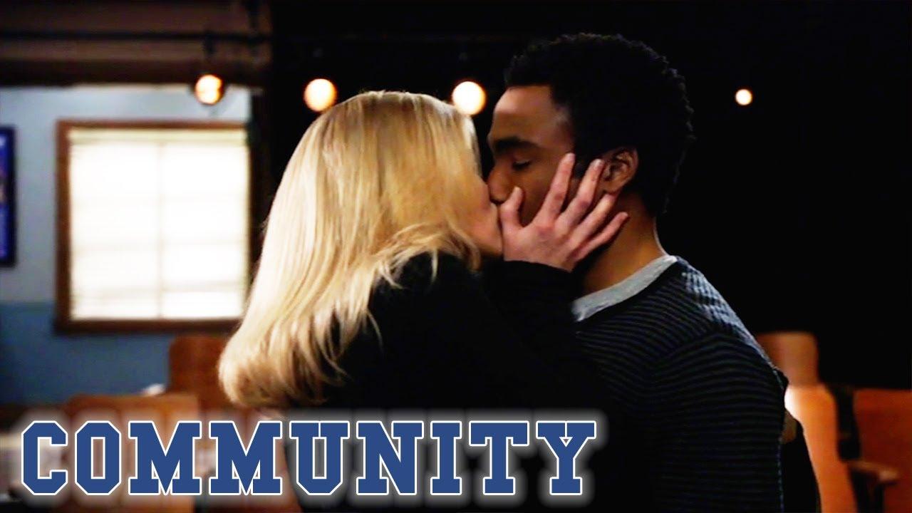 Troy And Britta Kiss | Community