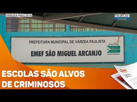 Escolas são alvos de criminosos - TV SOROCABA/SBT