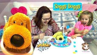 SOGGY DOGGY 🐶 Wer wird nass, wenn der Hund sich schüttelt? 💦 | Ideal Kinderspiel mit Action