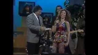 Gloria Trevi en Andale, con Paco Stanley (1992)