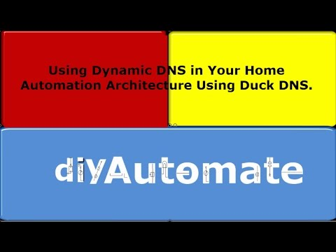 Dynamic DNS for Home Automation Hobbyists