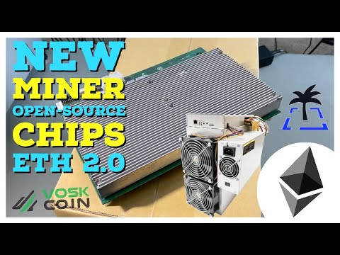 New Crypto Miner Earns $90 a day?! NEW Open-Source Cryptocurrency Chips | Ethereum Store Of Value