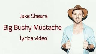 Jake Shears - Big Bushy Mustache song latest 2018 (Lyrics)|| by Lyrical Sams