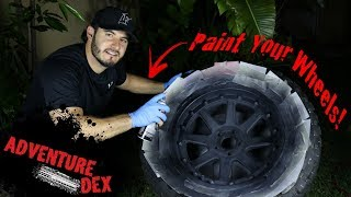 How to Paint Your Wheels! - 5 Easy Steps!