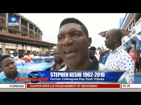 Stephen Keshi, Fmr Super Eagles Coach To Be Laid To Rest