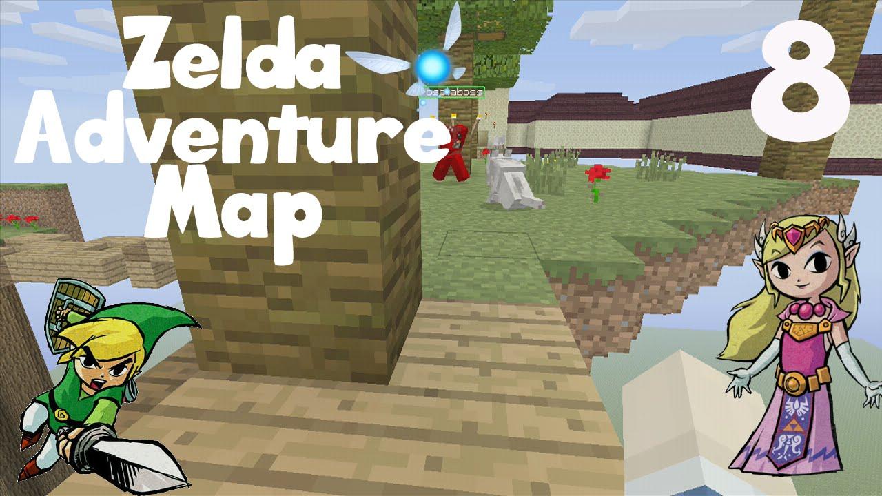 Minecraft Xbox: The Legend of Zelda Adventure Map - Up In The Sky (8 ...