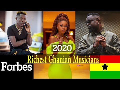 Top 10 Forbes Richest Ghanaian Artists