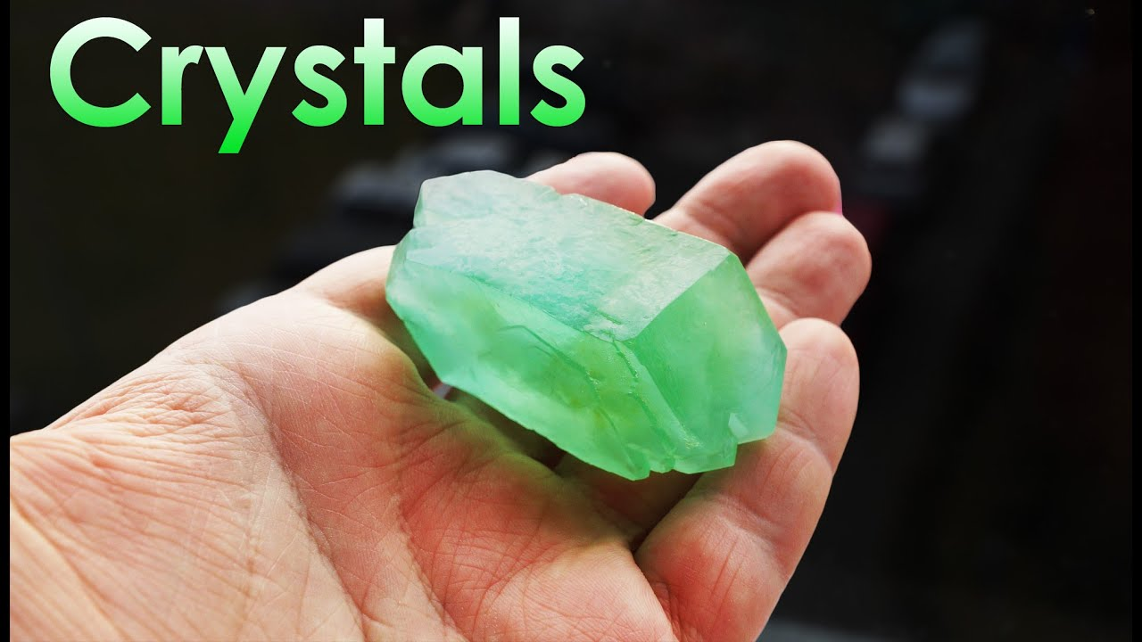How to grow a crystal at home from different substances