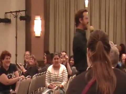 Richard Speight, Jr. on Jared and Misha's Pranks Dallas SPNCon 2012