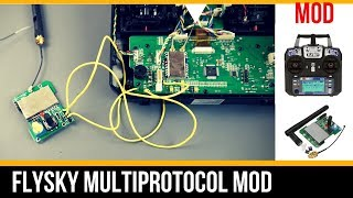 Flysky MultiProtocol Mod Part 1 // Bind Frsky receivers on your Flysky FS-i6!!!!