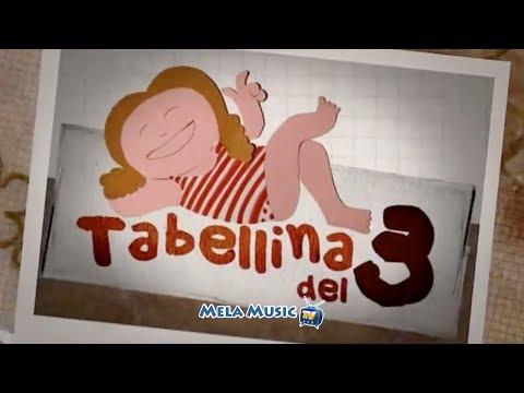 TABELLINA DEL 3 - La canzoncina di Isabella